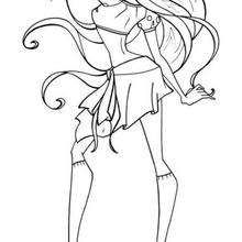 1000+ images about Coloring Pages *Barbie / Disney
