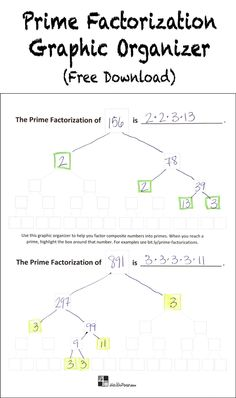 1000+ images about Teaching Factors & Multiples on