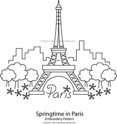 Eiffel towers, Towers and Stencils on Pinterest