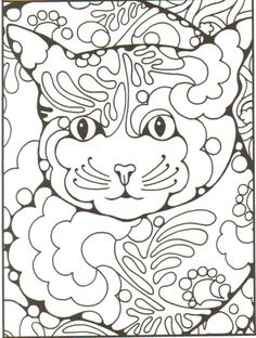 Children's and adult art/colouring pages on Pinterest