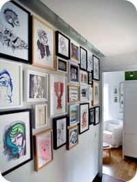 1000+ images about Multiple Wall Frame Hanging on ...