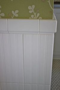 Ceramic Beadboard-look tile: Ceramica Colli Nantucket 8X20 ...