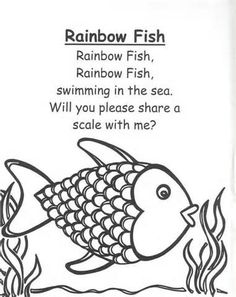 1000+ images about Book: Rainbow Fish on Pinterest