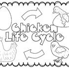 Inside this mini pack: Chick Life Cycle cover page ABC
