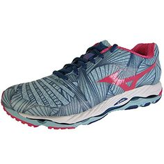 mizuno womens wave paradox running shoe porcelain bluerouge red b us want to know