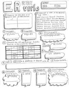 QUERER ~tic tac toe ~Spanish verb conjugation worksheet
