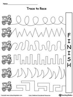 1000+ images about Fine Motor Skills / Tracing on