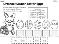 Free Printable Easter Teaching Resources, including Easter