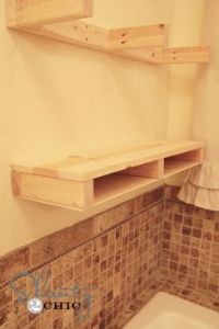 Build DIY Floating Shelves With Ana White   Stains, Pine ...