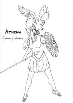 1000+ images about Greek God/dess' Coloring Pages on