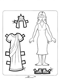 Loads of resources for Queen Esther Puppets, color