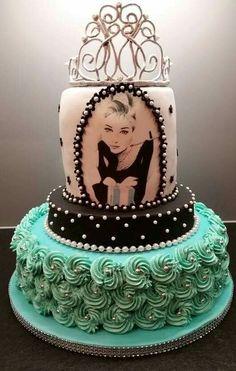 Breakfast At Tiffanys Cake Gorgeous Cakes Pinterest