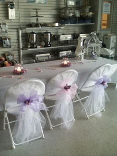 wedding chair covers reddit victoria bentwood rocking tulle with bows
