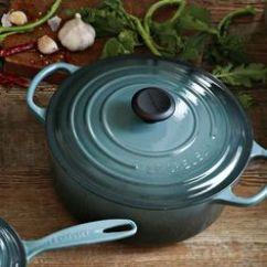 Calphalon Kitchen Essentials Dutch Oven 3 Hole Faucets Staub Cast-iron Mini Round Cocotte Set, 1/4-qt. # ...