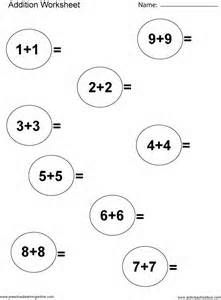 The 2-Digit Addition with No Regrouping (A) math worksheet