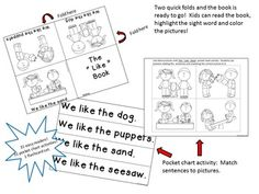 1000+ images about Kindergarten Treasures Reading on