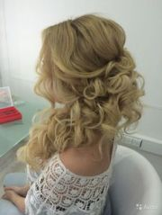 wedding side updos long hair