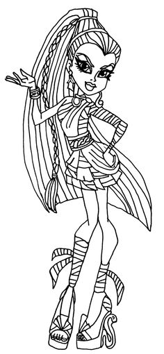 1000+ images about Colouring~Bratz~Monster High~Moxie