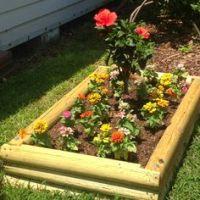 Flower bed ideas on Pinterest | Flower Beds, Landscape ...