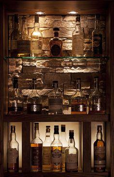 Scotch locker instead of a wine cellar  My Style