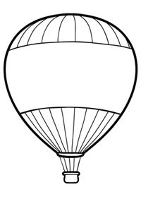 Hot Air Balloons coloring pages, coloring pages of Hot Air