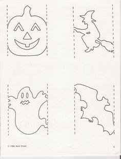 Witch pattern. Use the printable outline for crafts