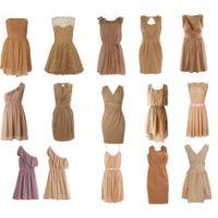 Tan Bridesmaid Dresses on Pinterest | Tan Bridesmaids ...