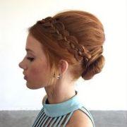 tight dutch braids