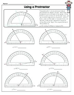 Are you teaching your students how to measure angles? The