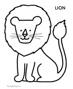 cute-monkey-clip-art-black-and-white-Monkey-coloring-pages