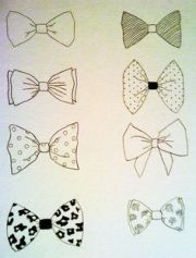 1000 bow's and bowties