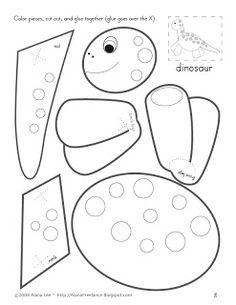 Printable Dinosaur Masks From: http://printable-masks
