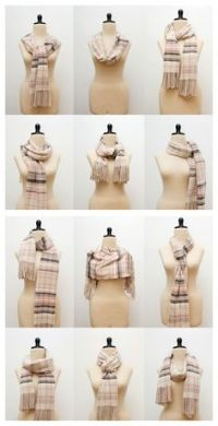 1000+ images about Ways to Wear a Scarf on Pinterest ...