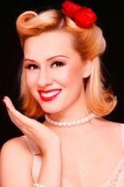 1950s ponytail vintage