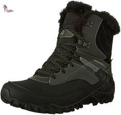 merrell fluorecein shell wtpf chaussure de randonnee femme noir black