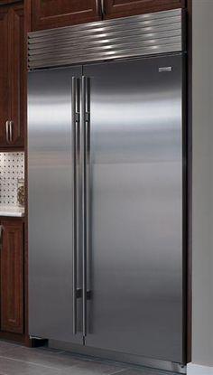 retro kitchen appliance valances curtains 1000+ images about sub zero refrigerators on pinterest ...