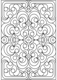 1000+ images about Pattern Coloring Pages on Pinterest