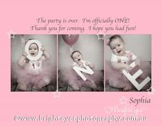 1st Birthday Thank You Card Wording Thank You