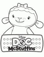 Doctor mcstuffins, Doc McStuffins and Coloring pages on