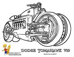 1000+ images about Mighty Motorcycle Coloring Pages on