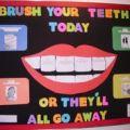 School nurse health bulletin boards bulletin board content area