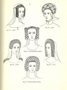 Glossary Of English Hairstyles And Headdress Jewels Hair And