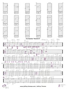 Ukulele tabs, Stairway to heaven and Led zeppelin on Pinterest