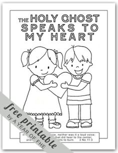 Mormon Mommy Printables: The Holy Ghost is Like a Blanket