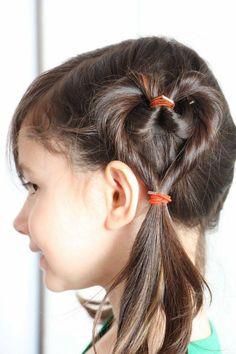 Entzückende DIY Frisur Für Blumen Mädchen Frisur Pinterest