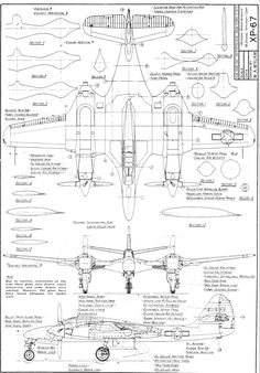 1000+ images about Aircraft Orthographic Projections on