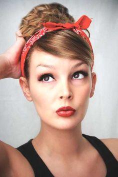 Stilvolle Hochsteckfrisur Mit Haarband Für Madchen Im Jahr 2015