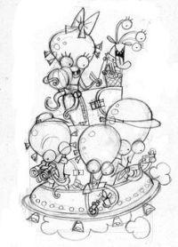 Dibujos De Falleras Para Imprimir