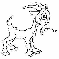 Cute Goat Cross Stitch Pattern Download by CuteStitchForMe