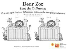Dear Zoo Teaching Resources & Story Sack Printables